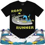 ROAD RUNNER  - Black w/ Turquoise